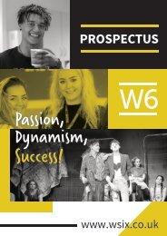 W6 Prospectus 2019-2020