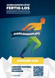 AUSBILDUNGSPLÄTZE - FERTIG - LOS | Landkreis Northeim, Landkreis Holzminden 2020
