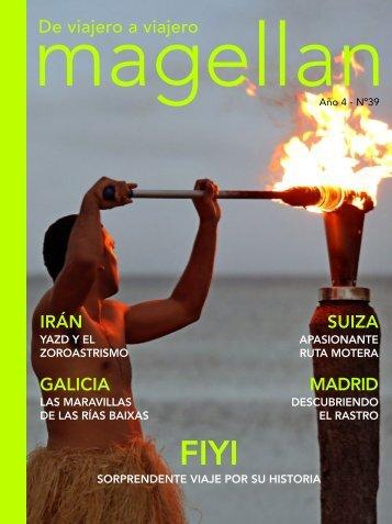 Revista de viajes Magellan Nº39