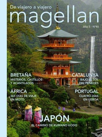 Revista de viajes Magellan Nº40