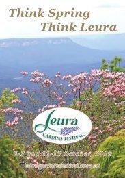 2019 Leura Gardens Festival - Official Guide