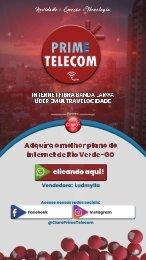 Cartão Digital Prime Telecom - LUDMYLLA