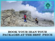 Book Your Iran Tour Packages At The Best  Price
