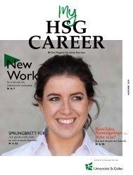 my HSG Career