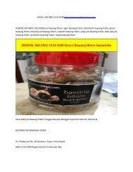 HALAL, WA 0852 1533 9500 Grosir Bawang Hitam Gorontalo