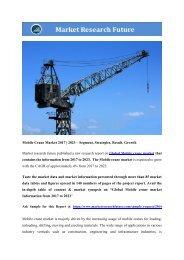 Global Mobile Crane Market