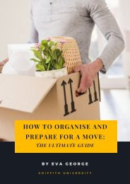 How to Organise and Prepare for a Move- The Ultimate Guide