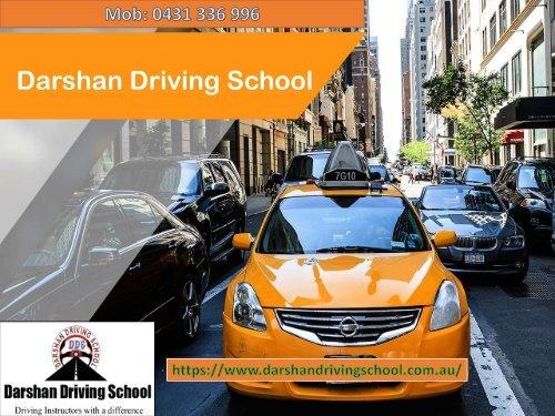 Darshan Driving School Melbourne