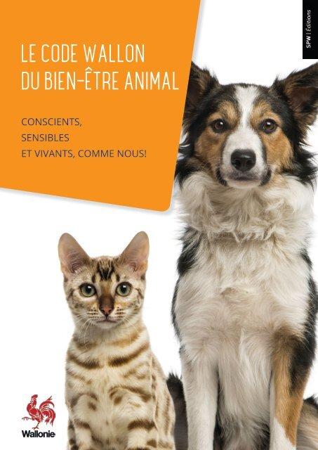 Le code wallon du bien-être animal