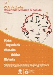 Revista Ciclo de charlas variaciones en torno al sonido FINAL