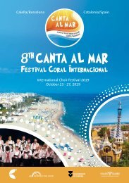 Calella 2019 - Program Book