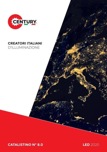 4000K CENTURY ITALIA DMEMORY ADVANCE FARO LED 100W