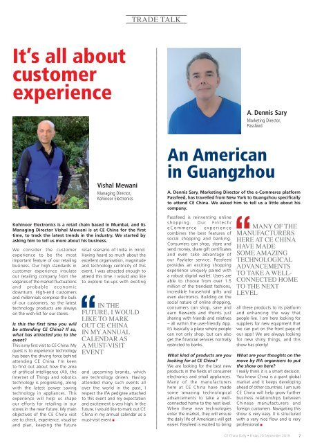 CE China Daily Day 2 Edition