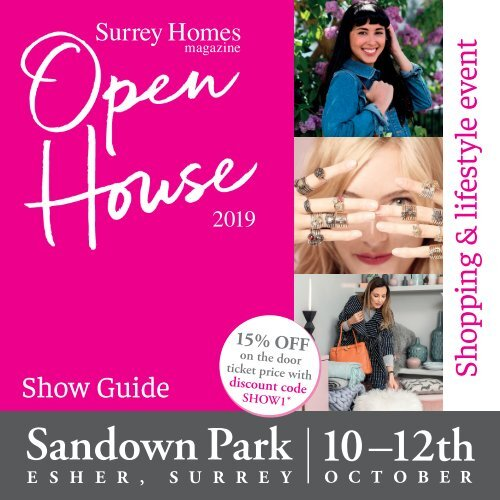 Showguide | OH19 | Surrey Homes OPEN HOUSE 2019