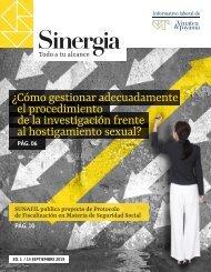 Sinergia Revista Laboral - Edición 01 - Setiembre 2019