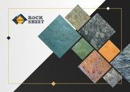 Rocksheet - Catalog V03 designed by Canvas Pakistan