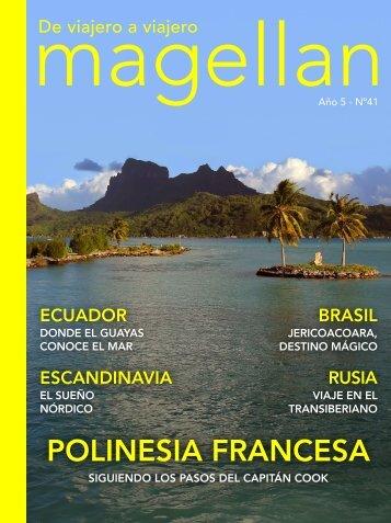 Revista de viajes Magellan Nº41