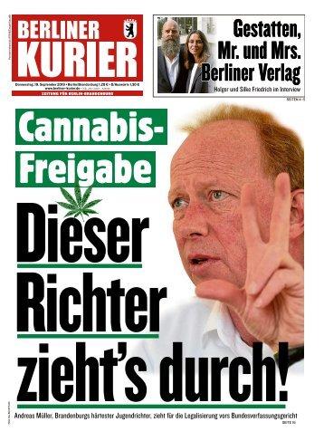 Berliner Kurier 19.09.2019