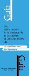 Guía para el descarte en las bibliotecas de las Instituciones de Educación Superior