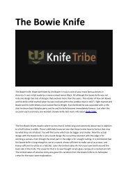 4 Knife Tribe
