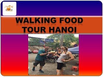 Walking food tour hanoi