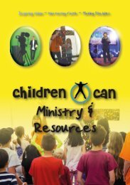 Children Can Ministry & Resources