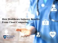 How Healthcare Industry Benefits From Cloud Computing