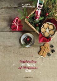 Hay Hampers Christmas Brochure 2019 - 35 Years of Christmas Joy