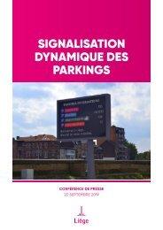 Signalisation dynamique des parkings de la Ville de Liège