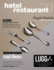 Hotel Restaurant Magazin Eylül 2019