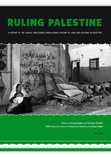 Ruling Palestine
