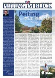 Peiting im Blick, Ausgabe September 2019