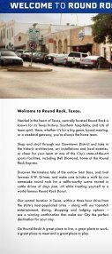 Round Rock Visitor Guide - Page 2