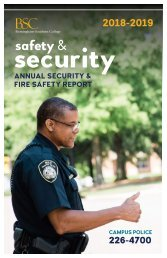 2019 Safety & Security Report