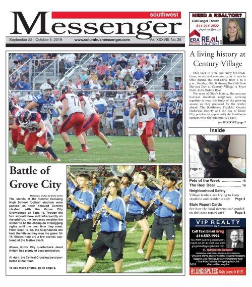 Southwest Messenger - September 22nd, 2019