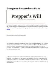 4 Prepper's Will - Survival and Emergency Preparedness