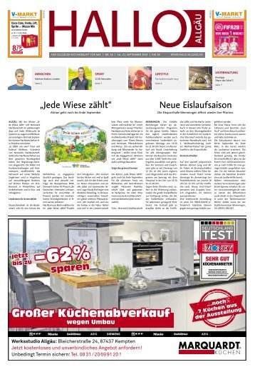 Hallo-Allgäu Memmingen vom Samstag, 21.September