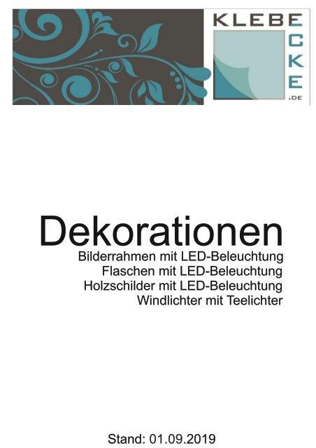 unsere Dekorationen als pdf-Katalog