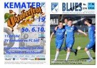 Blues News 270: SV Kematen vs. SVI