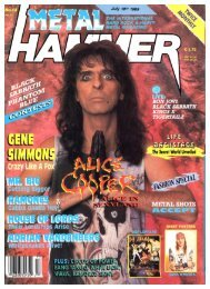 metal hammer july 1989
