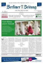 Berliner Zeitung 21.09.2019