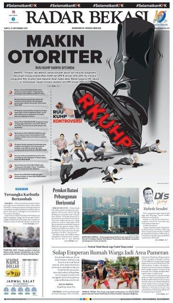 E - PAPER RADAR BEKASI EDISI 21 SEPTEMBER 2019