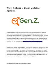 4 Gen Z marketing london ontario