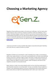 4 Generation Z Marketing