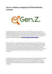 4 Gen Z online marketing companies london
