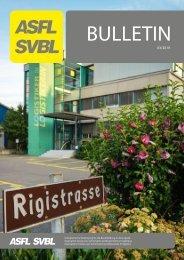 ASFL SVBL Bulletin 2019/3