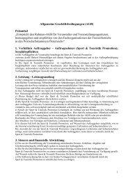 Allgemeine Geschäftsbedingungen (AGB) Präambel - Magic-Events ...