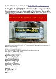 PALING BERKHASIAT WA +62 852-1533-9500 Jual Black Garlic Bawang Hitam jakarta Pusat