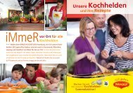 Unsere Kochhelden und ihre Rezepte - Maggi Kochstudio