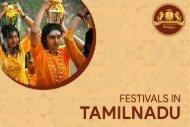 Festivals in Tamil Nadu   Tamil Nadu Festivals   Chidambara Vilas